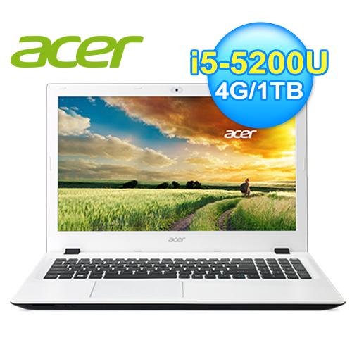 acer 宏 E5-573G-52NR 筆電 白 WIN10