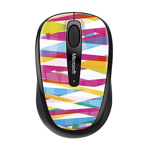微軟 3500 無線行動滑鼠 繃帶線條