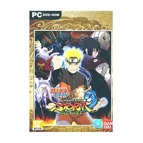 火影忍者疾風傳 終極風暴3 Full Burst PC英文版