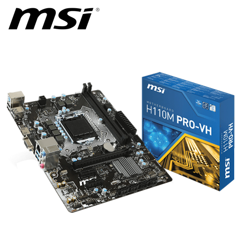 msi 微星 H110M PRO-VH 主機板