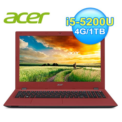 acer 宏 E5-573G-54FE 14吋筆電 紅 WIN10