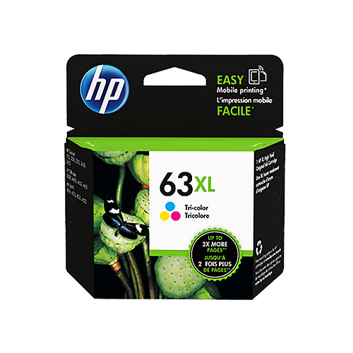 HP F6U63AA^(NO.63XL^) 彩色墨水匣 大容量