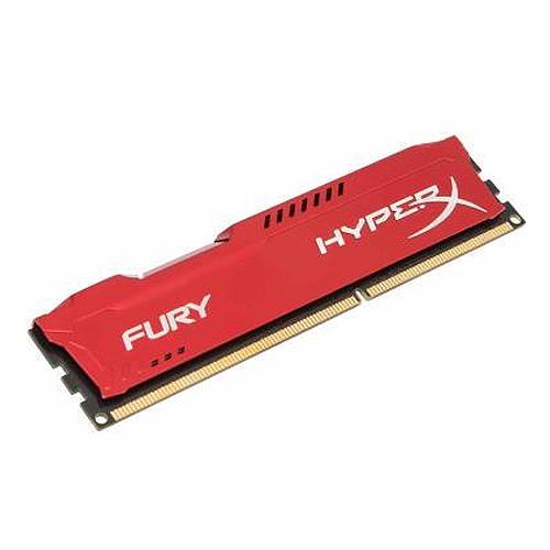 金士頓 Fury DDR3 1866 4G PC用 紅