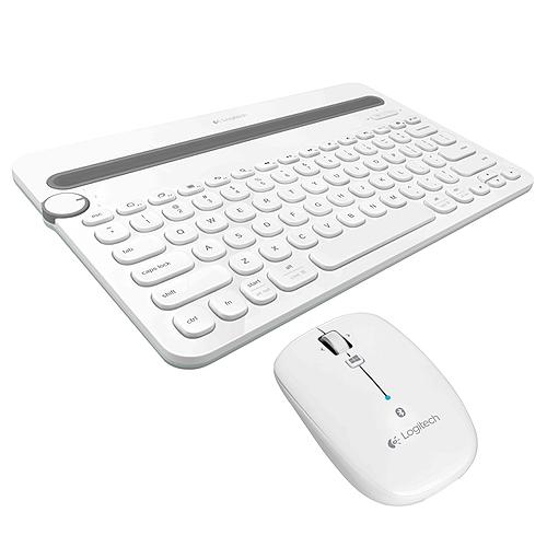 羅技 K480 藍牙鍵盤 白   M557 藍牙滑鼠 白