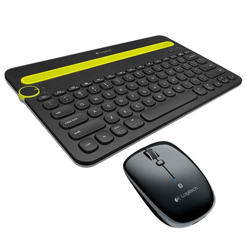 羅技 K480 藍牙鍵盤 黑   M557 藍牙滑鼠 黑