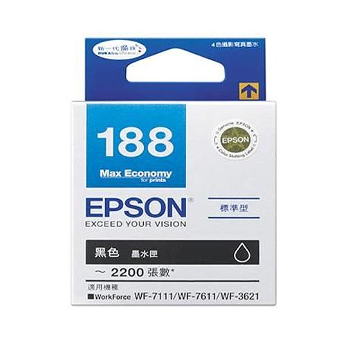 EPSON T188150 魔珠黑色墨水匣