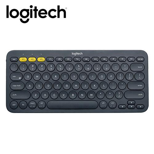 Logitech 羅技 K380 跨平台藍牙鍵盤-灰黑