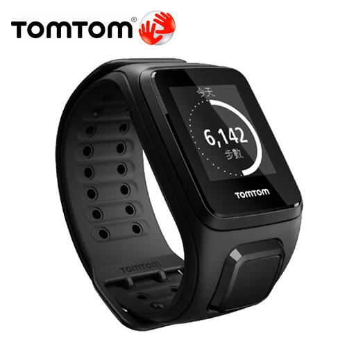 TOMTOM SPARK 音樂健身運動錶含耳機(寬)