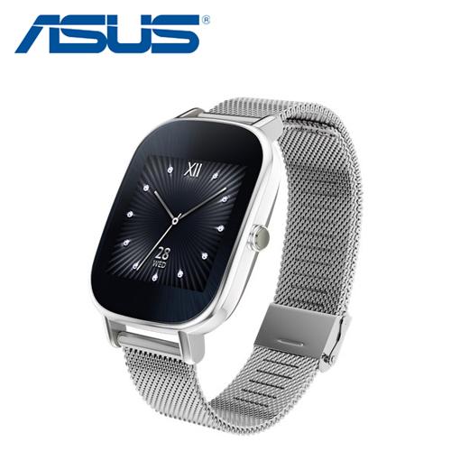 ASUS 華碩 ZenWatch 2 (WI502Q) 智慧手錶 優雅銀鍊