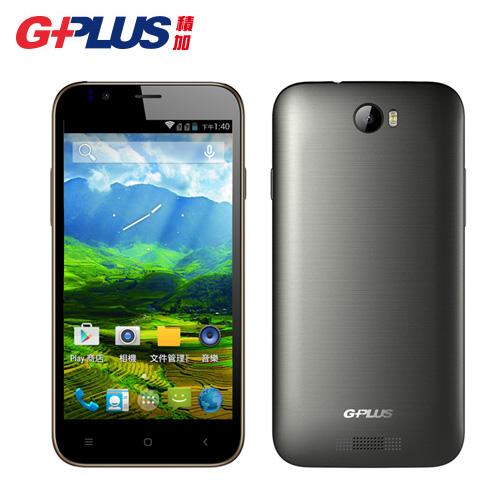 G-plus BE23 四核雙卡雙待智慧手機 灰
