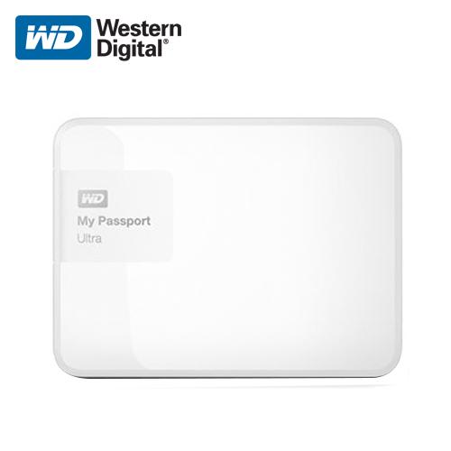 WD 威騰 My Passport Ultra 1TB 閃耀白