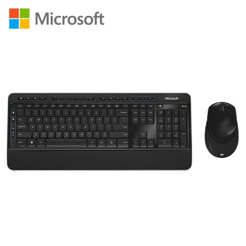 Microsoft 微軟 無線鍵盤滑鼠組3050 -friDay購物