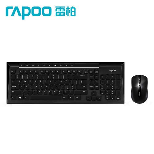 Rapoo 雷柏8200P 5G無線光學鍵鼠組-黑