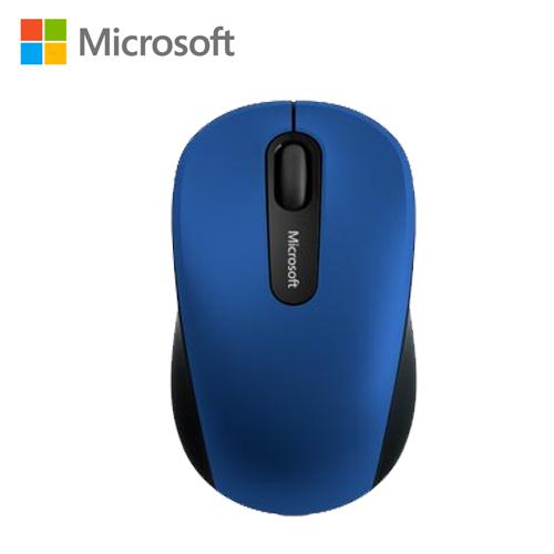 Microsoft 行動藍芽滑鼠3600-藍