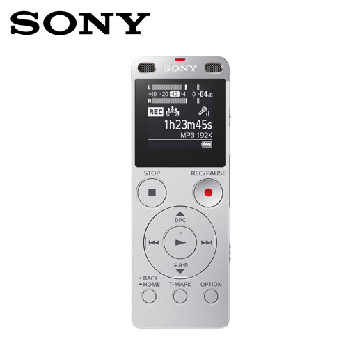 SONY 索尼 ICD-UX560F 4G錄音筆-銀