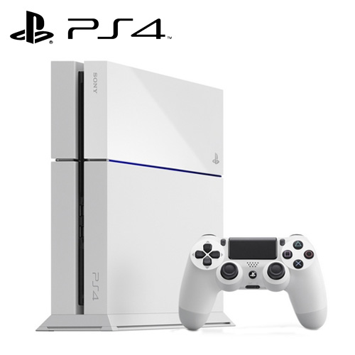 PS4 500G主機冰河白CUH-1207