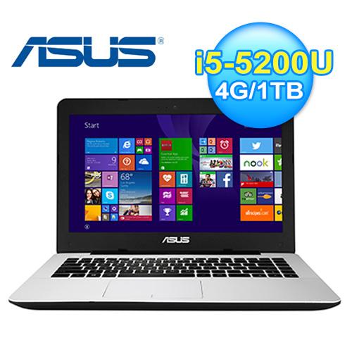 ASUS 華碩 X455LF-0163G 14吋 獨顯筆電 白