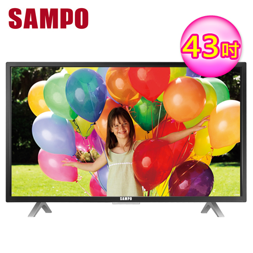 SAMPO 聲寶 43吋LED液晶電視 EM-43CT16D