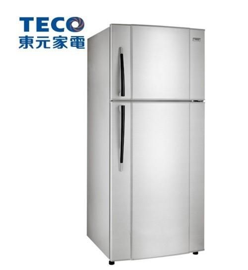 【TECO東元】508L定頻雙門冰箱R5113S(銀)-網