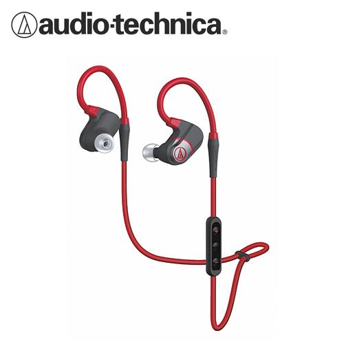 鐵三角 ATH-SPORT4 運動專用藍牙耳機麥克風 紅