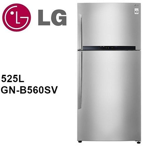 【LG樂金】525L變頻一級能效上下門冰箱GN-B560SV-
