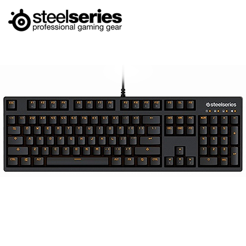 SS 賽睿 APEX M260 青軸中文機械鍵盤 黑
