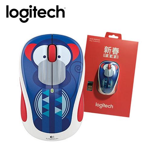 Logitech 羅技 M238 炫彩玩藏系列 無線滑鼠 猴子