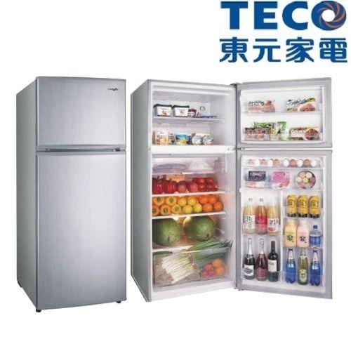 好禮送【TECO東元】480L變頻雙門冰箱R4871XLS(銀)