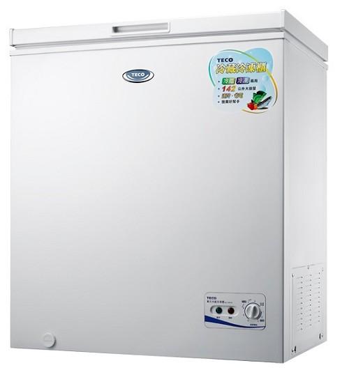 【TECO 東元】192L上掀式冷凍櫃RL1988W-網