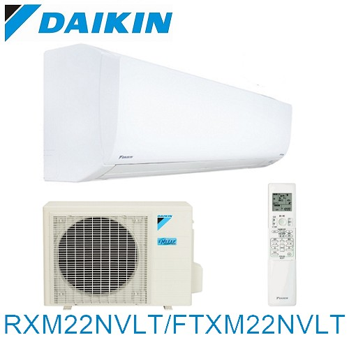雙重送【DAIKIN大金】2-4坪R32變頻冷暖分離式RXM22NVLT/FTXM22NVLT