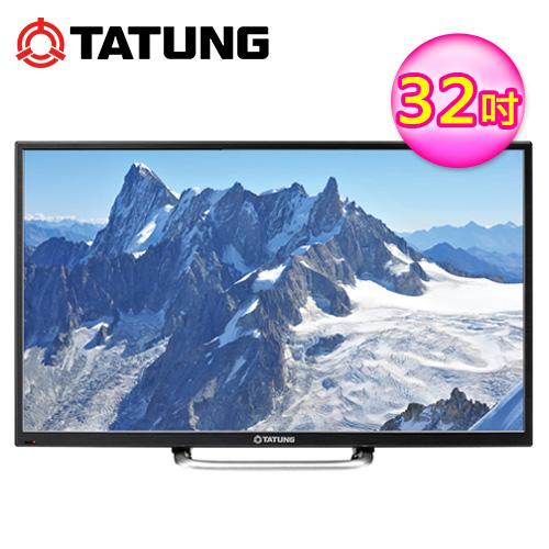 TATUNG 大同 32吋 LCD電視 LCTTDC-3210+視訊