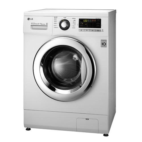 雙重送【LG樂金】9kg 洗脫烘滾筒洗衣機 WD-90MGA