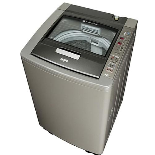 雙重送【SAMPO聲寶】15KG變頻洗衣機ES-DD15P(K1)-