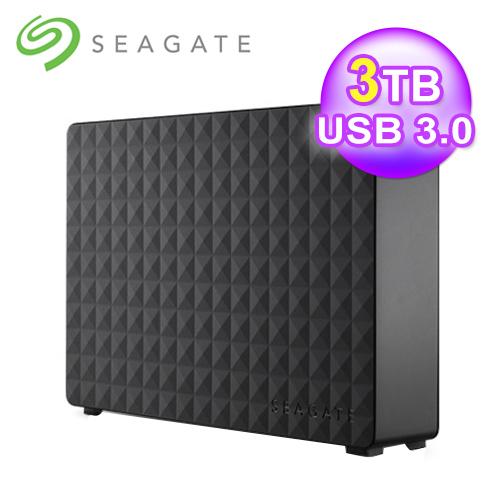 希捷 新黑鑽 3TB 3.5吋 外接硬碟