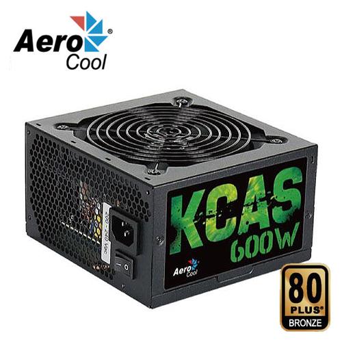 AEROCOOL 600W 80Plus 銅牌 電源 器