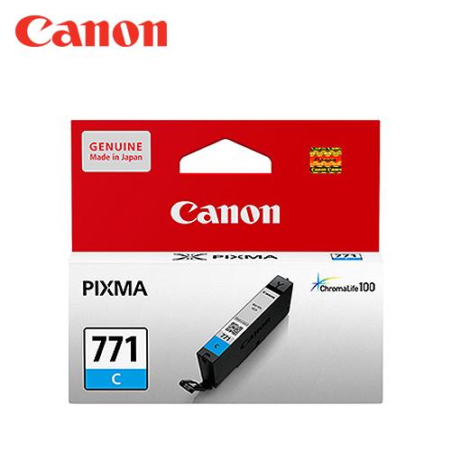 CANON CLI-771C 藍色墨水匣