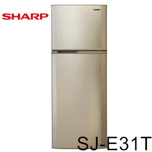 【SHARP夏普】310L雙門冰箱SJ-E31T-S-網