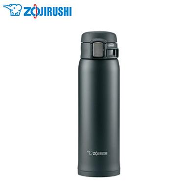 【象印】0.48L不锈钢OneTouch真空保温杯 SM-SA48 黑色(BA)