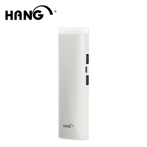 HANG 露營燈LED手電筒 15000mAh 雙輸出行動電源 T12 白
