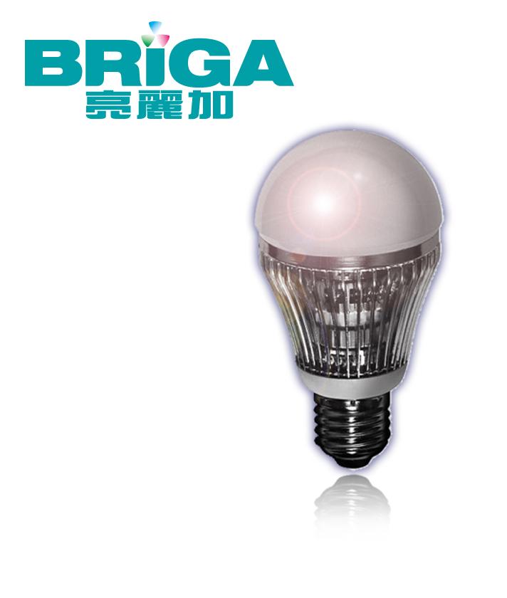 10W 6000K 白光 LED BULB 省電節能超亮全週光球泡燈