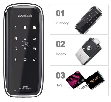 韓國EverNet智慧型電子門鎖 300-S