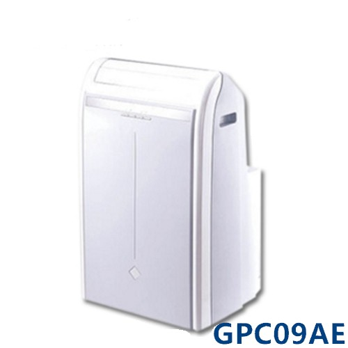 【GREE格力】3-5坪移動式空調機GPC09AE(不含裝)-