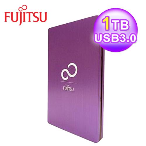 富士通 2.5吋1T 外接式硬碟-魔幻紫