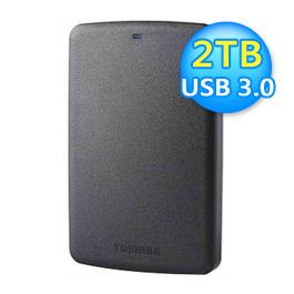Toshiba 東芝 A2 Basic 2TB 2.5吋行動硬碟 黑