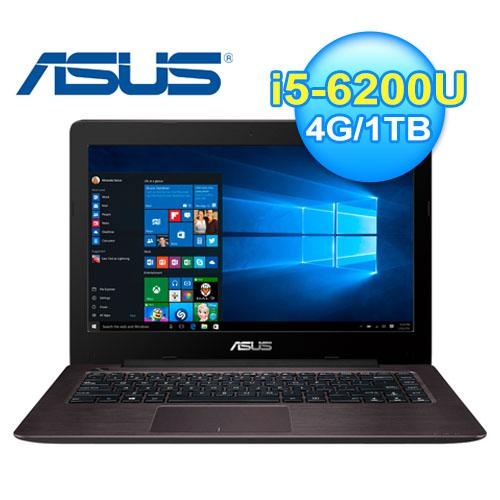 ASUS 華碩 X456UB-0021A 14吋 筆電 棕色 W10
