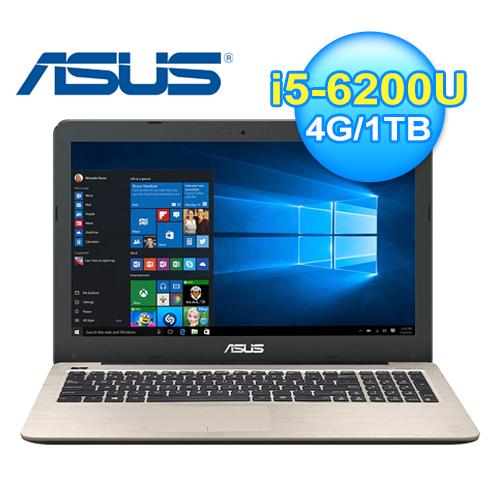 ASUS 華碩 X556UR-0031C 15.6吋 筆電 霧金 W10