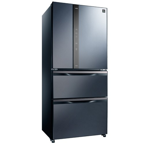 【SAMPO聲寶】560L變頻四門冰箱SR-NW56DD(藍B3)-網