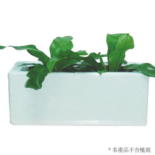 高雅短方型瓷盆(2入)