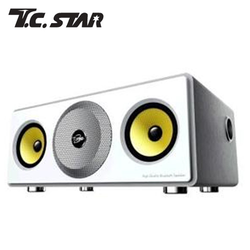 T.C.STAR TCS3000 多功能藍牙喇叭 (雪白銀)