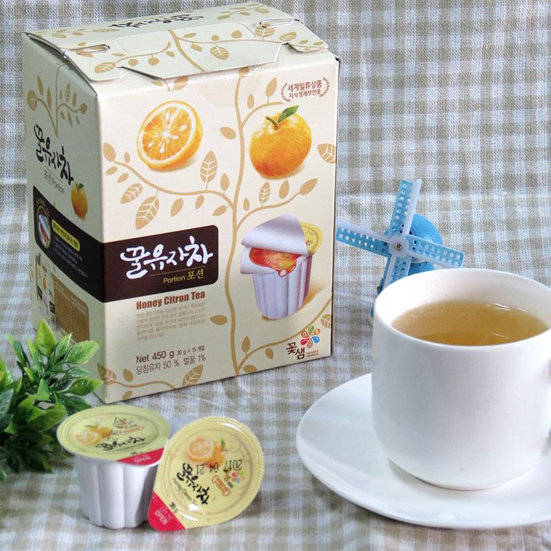 Y30膠囊蜂蜜柚子茶